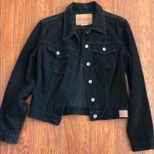 Guess Denim Jacket in Black